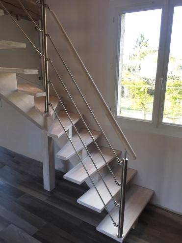 Peindre son escalier le blog de l 39 escalier sur mesure by o ba for Peindre un escalier en bois brut